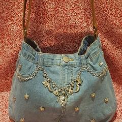 Hearts and Moon Handbag
