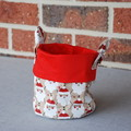 Christmas Fabric Bucket