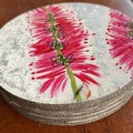 Bottlebrush coaster