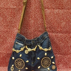 Mandela's and Beads Handbag