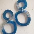 Double Wonky Circle Earrings