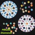 Mosaic Round Coaster Pairs