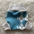 Extra Large Argyle Wool Nappy Cover