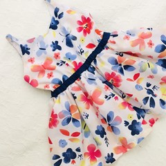 Sorrento Butterfly dress for girls Sizes  1 and 3