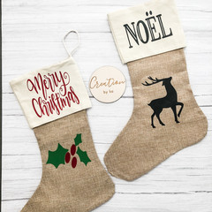 Decorative Santa Stocking