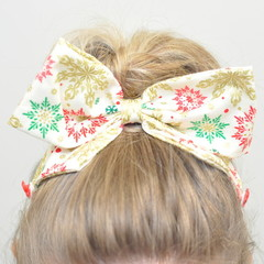Christmas Fireworks Bow Ear Saver for Ear Loop Face Masks