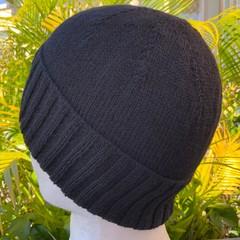 Handmade Alpaca Wool Blend Knitted Beanie