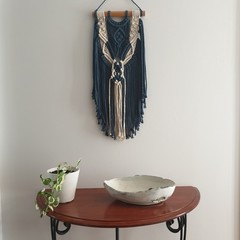 BLYSSE - Macrame Wall Hanging - Small - Wall Art - Macrame Decor - Two Toned