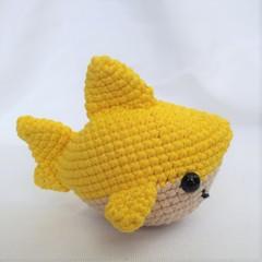 Shark toy, softie, amigurumi