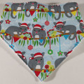 Aussie Christmas Animal Bandana Bib / Dribble Bib