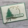 Handmade Christmas Card - Seasons Greetings