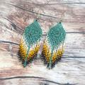 MADE TO ORDER Mini dangles handmade beaded earrings
