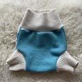 Extra Large Argyle Wool Nappy Cover