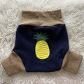 Extra Large Pineapple Wool Nappy Cover