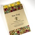 Beeswax Wraps - Floral Large Square Pack