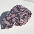 Men's floral necktie in Liberty_Australian made_skinny_classic_slim_wedding_gift