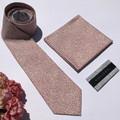 Australian made mens tie & pocket square set in Liberty, handmade_Floral tie_ski