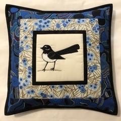 Australiana cushion cover -WILLY WAG TAIL