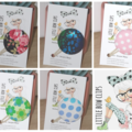 Button Hair Ties ~ Hair Accessories