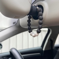 Mini Aroma Lava Rock Bracelet & Diffuser  - Natural Car Air Freshener!!
