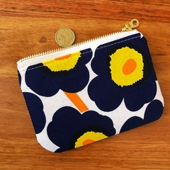 Coin Purse - mini unikko