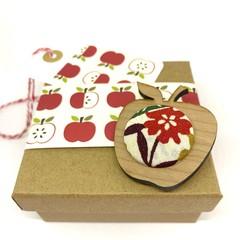 Apple for the Teacher Brooch