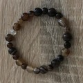 Shades of brown elastic bracelet