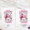 Novelty Mug & Coaster  - Never Take Camping Advice from me