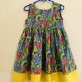 Pretty cotton dress size 4