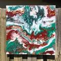 - Desert Storm - (50x50cm Acrylic on canvas)