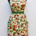 Christmas Deck the Halls - ladies traditional apron