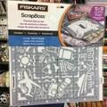 Fiskars ScrapBoss themed stencil set