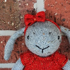 Bunny in Red