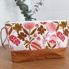 Pouch- Native Bouquet and Saffron