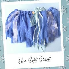 Elsa Inspired Soft Skirt
