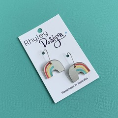 Fun Arch Rainbow Earrings