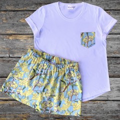Gumnut baby adult  shortie PJ set