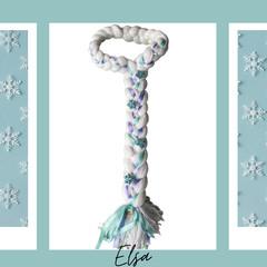 Elsa Inspired Yarn Wig