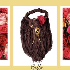 Belle Inspired Yarn Wig
