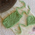 newborn lace romper and bonnet set