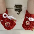 Enchanted Baby/Reborn baby Booties