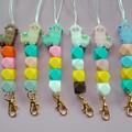 Llama / alpaca silicone bead lanyards