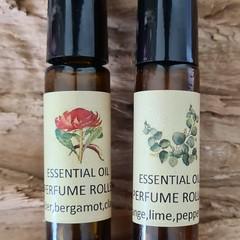 Essential Oil Perfume Roller 10mls