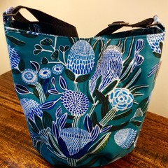 Blue Banksia Bag