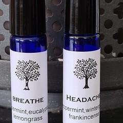 Essential Oil  Roller 10mls, breathe, headache, anxiety, focus, sleep