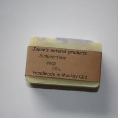 Summertime soap
