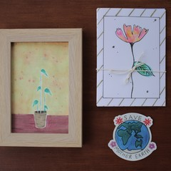 Artwork Pack | Greeting cards, framed originals, stickers | Choose your own