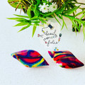 Earrings: A splash of colours