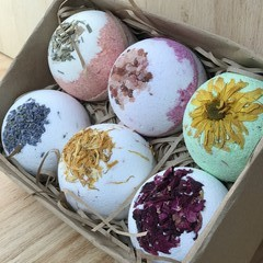 Mega Essential Oil Bath Bomb Pack