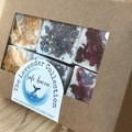 The Lavender Collection Gift pack of essential oil Bath cubes - Bath bombs